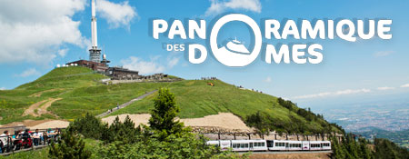 Train du Panoramique des Domes - Puy de Dome 63