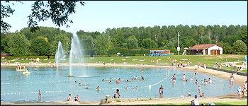 base de loisirs lac
