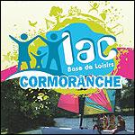 Lac de Cormoranche dans l'Ain