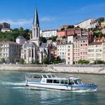 Les bateaux lyonnais à Lyon