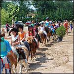 Initiation à l'équitation Poney club de Laizé 71